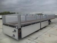 Полуприцеп бортовой Кегель (Koegel) SN24+ система фиксации контейнеров