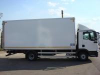 """Изотермический фургон """"Пластик"""" на шасси МАН 12.180"""