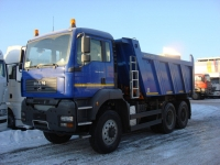 Самосвал МАН MAN TGS 40.410 6x6 BB-WW MEILLER 15 куб.