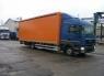 Шторный бортовой автомобиль грузовой МАН 12.180