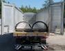 Полуприцеп самосвальный алюминиевый с клапан-воротами 55 кубов