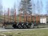Полуприцеп сортиментовоз (лесовоз) ZASLAW NL.12.KP.M (передвижные стойки)